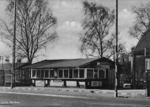 Is Andersen i krydet mellem nuværende Ballerupvej og Kirke Værløsevej
