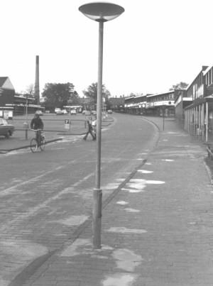 Bymidten - den Røde Plads ca. 1976